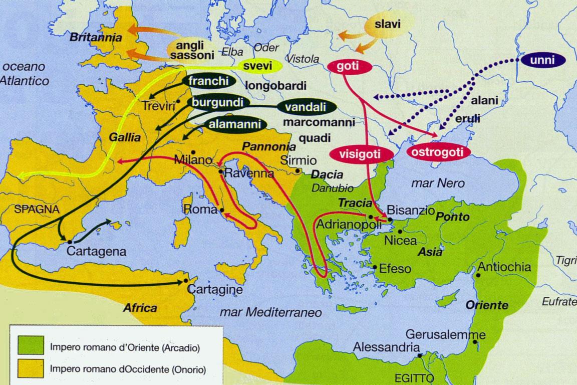 Invasioni barbariche - dettaglio