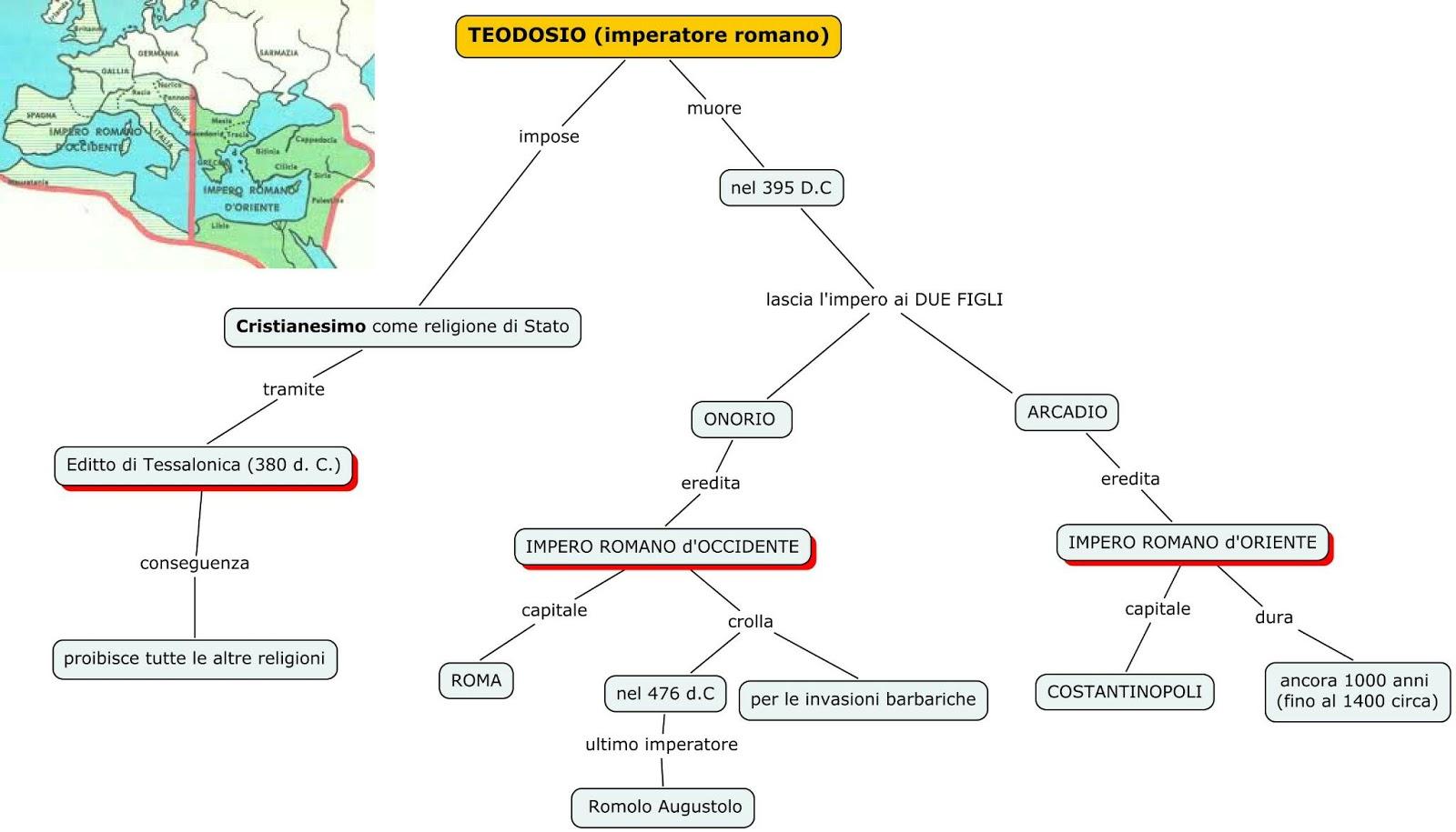 Teodosio e la caduta dell'impero romano